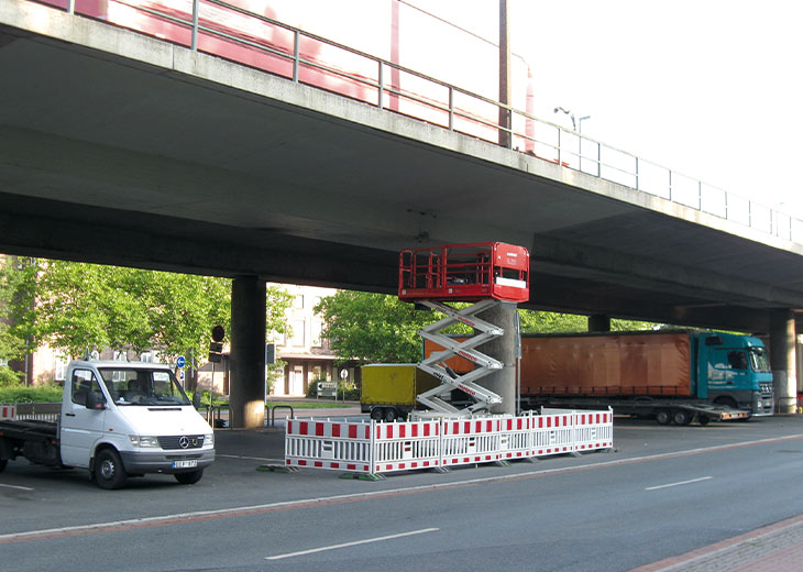 Koppelfugen Spannbetonbrücke